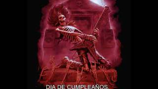 FELIZ CUMPLE ROCKERO.(METAL)