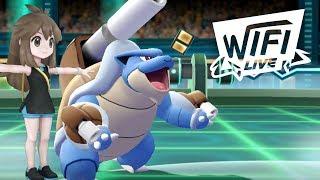 Pokemon Let's Go Pikachu & Eevee Wi-Fi Battle: Green Theme Team! (1080p)