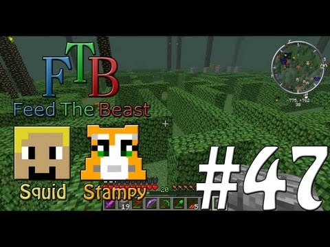 Feed The Beast #47 - The Maze!! - WStampylongnose