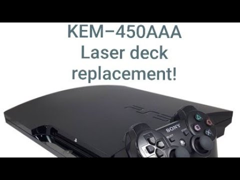 ps3 slim KEM-450AAA laser deck replacement
