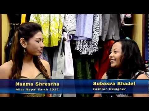 Making of a dress for Miss Nepal Earth Nagma Shrestha