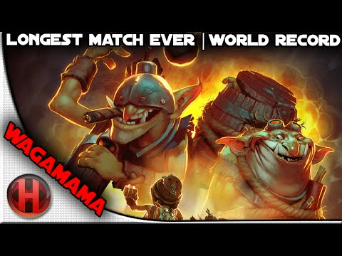 Longest Match in the History of Dota 2  WORLD RECORD  333 Hours  Wagamama Techies