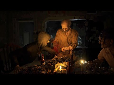 Геймплей трейлер Resident Evil 7: Biohazard (Вкусный ужин)