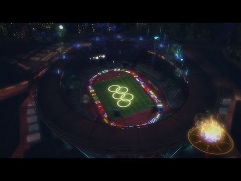 London 2012 (Video Game) Olympic Opening Ceremony 7/27/2012 HIGHLIGHTS xbox game Edition
