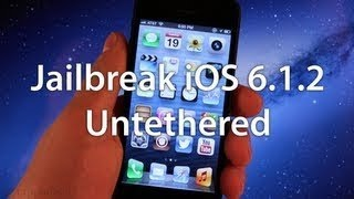 NEW Jailbreak iOS 6.1.2 Untethered - iPhone 5,4S,4,3GS, iPad Mini,4,3,2, & iPod Touch 5G,4G