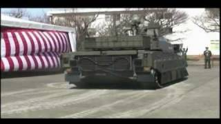 Drift! - Japan New MBT (Main Battle Tank) Type10 Tank Prototype (TK-X) New Test Video