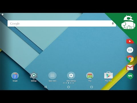launcher untuk tablet android