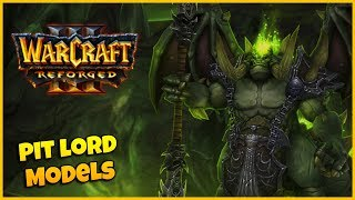 Updated Pit Lord Models - Side by Side Comparison | Warcraft 3 Reforged
