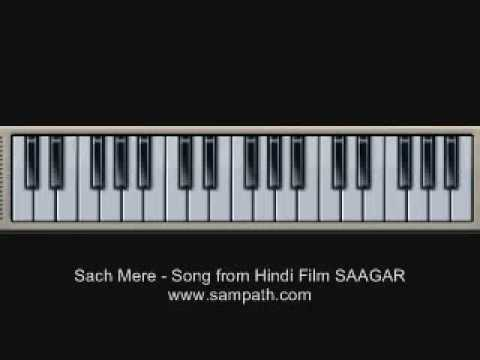 Sach Mere - SAAGAR -  Keyboard  Piano Training