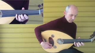 Oud training: one string taksim