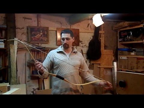 The homemade asian recurve bow. Азиатский лук своими руками.