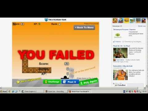 Stick Run xp and coins Hack -CheatEngine- 6.2