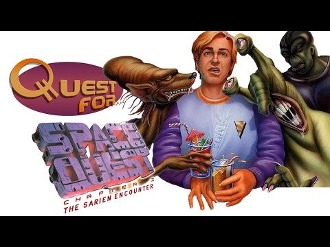 Quest for... - [ОБЗОР] Space Quest: The Sarien Encounter