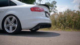 ECS Tuning Audi B8 S4 Center X-Pipe | Soundclips vs. Stock