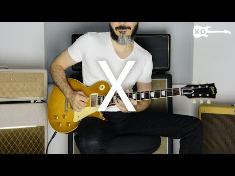 Nicky Jam - X (EQUIS) - Electric Guitar Cover by Kfir Ochaion