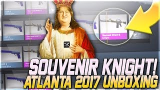 Souvenir Knight UNBOXING | Atlanta 2017 Cobblestone Package