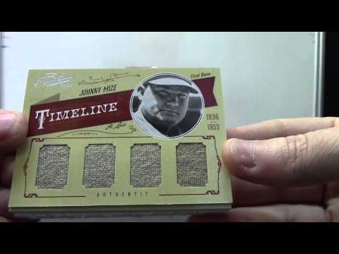 ACE's 2012 Prime Cuts Baseball & Ultimate Basketball 2 Box Break