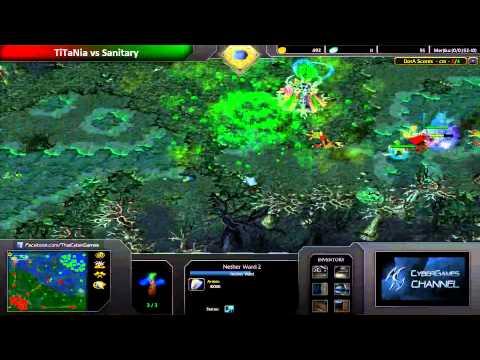 CyberGames DotA Januray 2014 - FInal Round - TiTaNia VS Sanitary