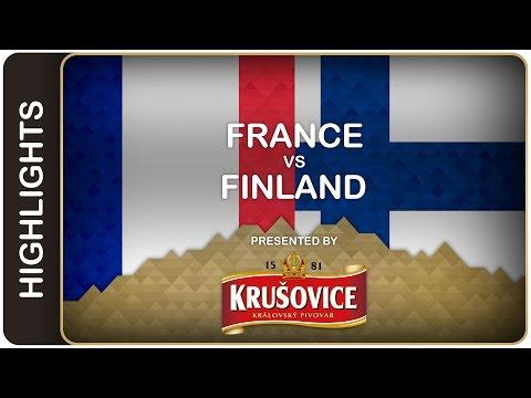 Finns down France in style | France-Finland HL | #IIHFWorlds 2016