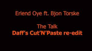 Watch Erlend Oye The Talk video