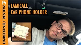 Unboxing / Review of LAMICALL CAR HOLDER