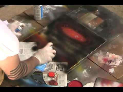 2012 - Spray Paint Art Video