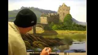 painting ielene donan castle