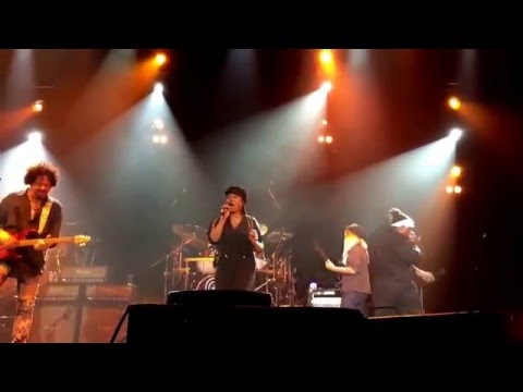 TOTO 'Georgy Porgy' feat. Mabvuto & Jenny. Dedicated to Maurice White. Live, Århus 15 February 2016