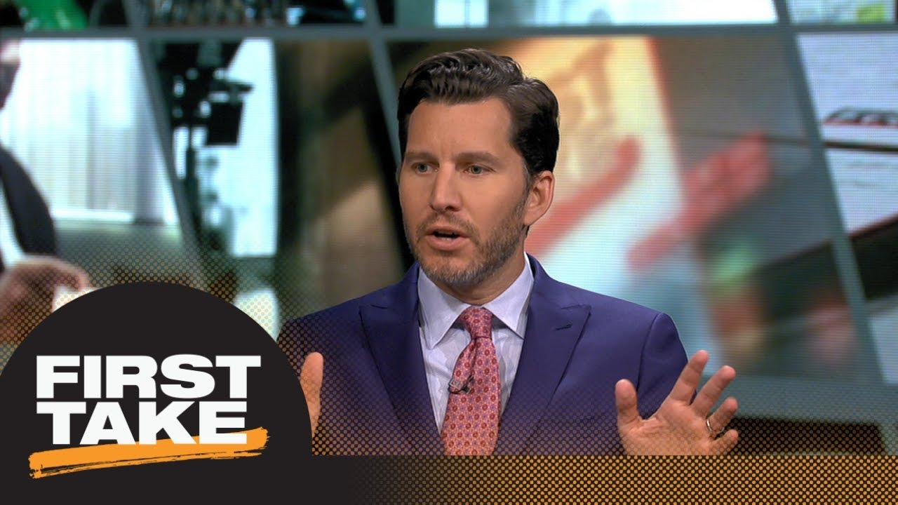 Will Cain: Raptors 'absolutely' not title contenders even with Kawhi Leonard | First Take | ESPN