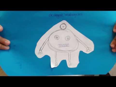 de vliegende bewakingrobot