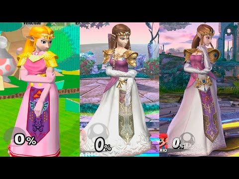 Super Smash Bros Wii U | Zelda Evolution