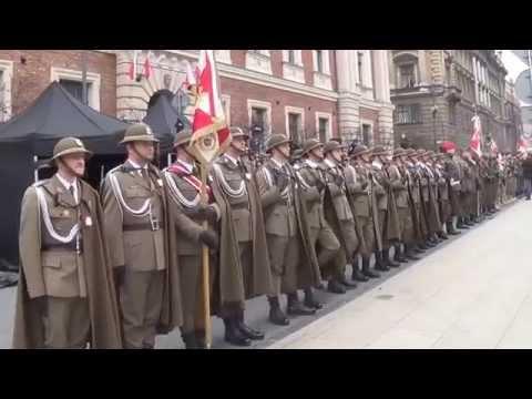 Święto Niepodległości A D  2015 W Krakowie