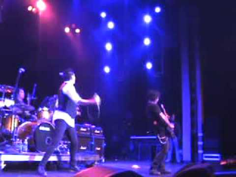 LA Guns - Blackout in the Redroom @ the NAMM 2010 Dean Guitars Party @ the Grove