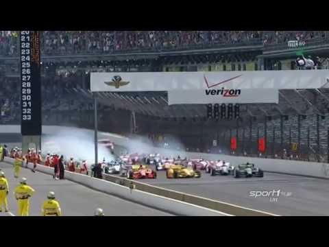 IndyCar 2014 Indianapolis Startchaos