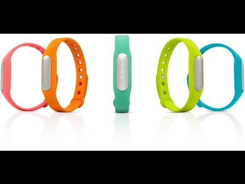 Xiaomi Mi Band Unboxing Reviews Fitness Monitor Sleep Tracker