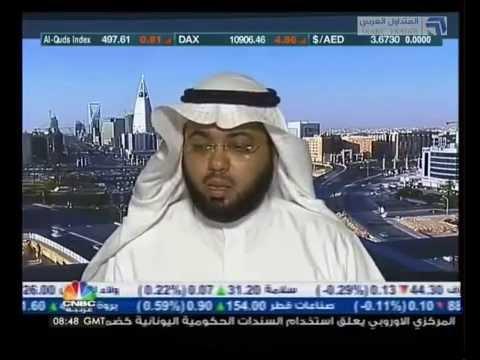 تحليل سوق الأسهم السعودية مع الأستاذ بسام العبيد من قناة cnbc