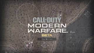"(LOUDER ""Main Menu Beta"" OST) Call of Duty: Modern Warfare 2019"