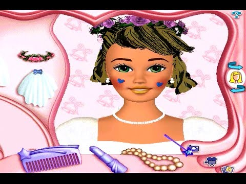 Barbie Magic Hair Styler PC Game Review YouTube