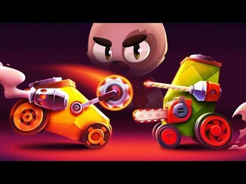 Разваливаем кабины - CATS Crash Arena Turbo Stars [2]