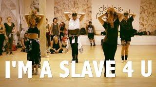 "Download Lagu Britney Spears ""I'm A Slave 4 U"" Choreography by @BrianFriedman & Wade Robson Gratis STAFABAND"