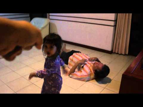 Two-year-old Girl  Vs 62-year-old Grandpa video