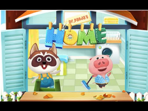 Dr. Panda's Home - iPad app demo for kids