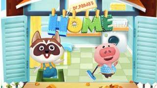 Dr. Panda's Home Part 1 - iPad app demo for kids - Ellie