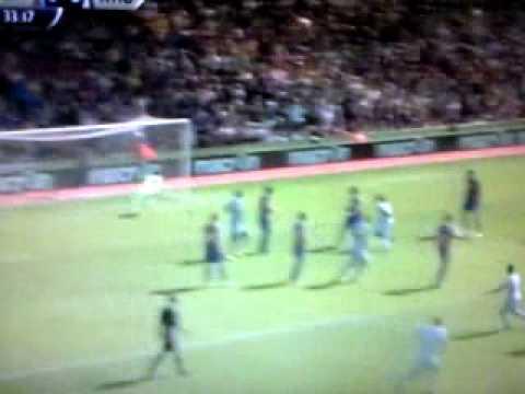 Gol de Mauro Zarate. Cristal Palace 0 West Ham 1