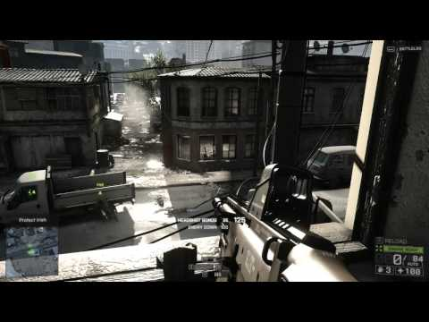 Battlefield 4 campaign on HD 7850 1GB + FX 4300 BE (Ultra Settings) HD 1280 x 720 and  1920 x 1080