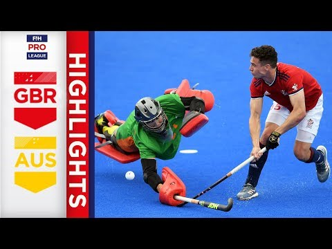Great Britain v Australia | Week 20 | Men's FIH Pro League Highlights