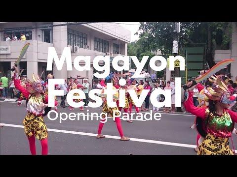 Magayon Festival 2016 Opening Day Parade, Legazpi, Philippines