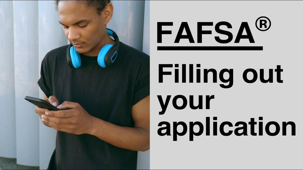 填写fafsa