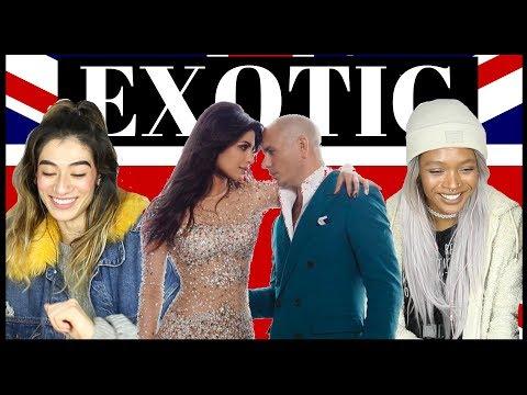 BRITISH PEOPLE REACT TO PRIYANKA CHOPRA ft PITBULL - EXOTIC thumbnail