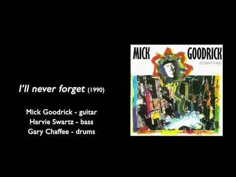 Mick Goodrick, Harvie Swartz, Gary Cheffee - I'll never forget